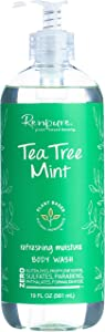 Renpure Plant-Based Beauty Tea Tree Mint Refreshing Moisture Body Wash, 19 Fluid Ounces