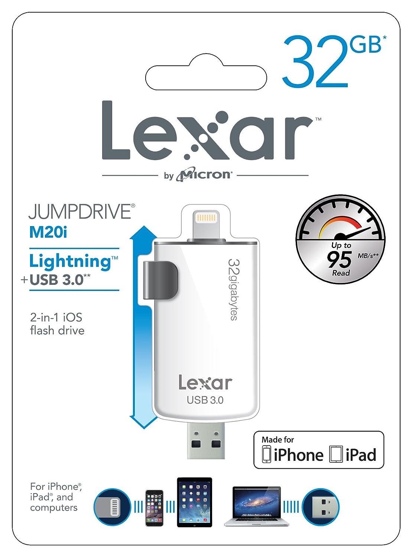 Sottocosto Pen-drive Lexar JumpDrive M20i USB 3.0 32GB