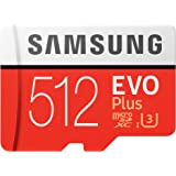 Samsung EVO Plus 2020 memory card 512 GB MicroSDXC Class 10 UHS-I - Samsung EVO Plus 2020, 512 GB, MicroSDXC, Class 10…