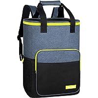 Hap Tim Cooler Backpack 30 Cans Insulated Backpack Cooler Lightweight Leak-Proof Soft Cooler Bag Large Capacity for Men…