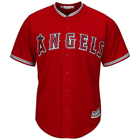 4f2973db89a Image Unavailable. Image not available for. Color  Mike Trout Los Angeles  Angeles Anaheim Red MLB Kids Alternate Replica Jersey ...