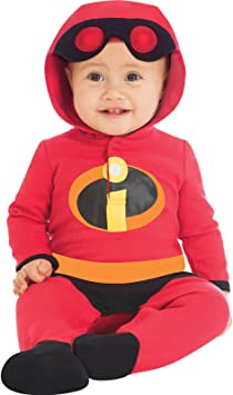 Generique - Disfraz bebé Jack Jack Los Increibles 0 a 3 Meses ...