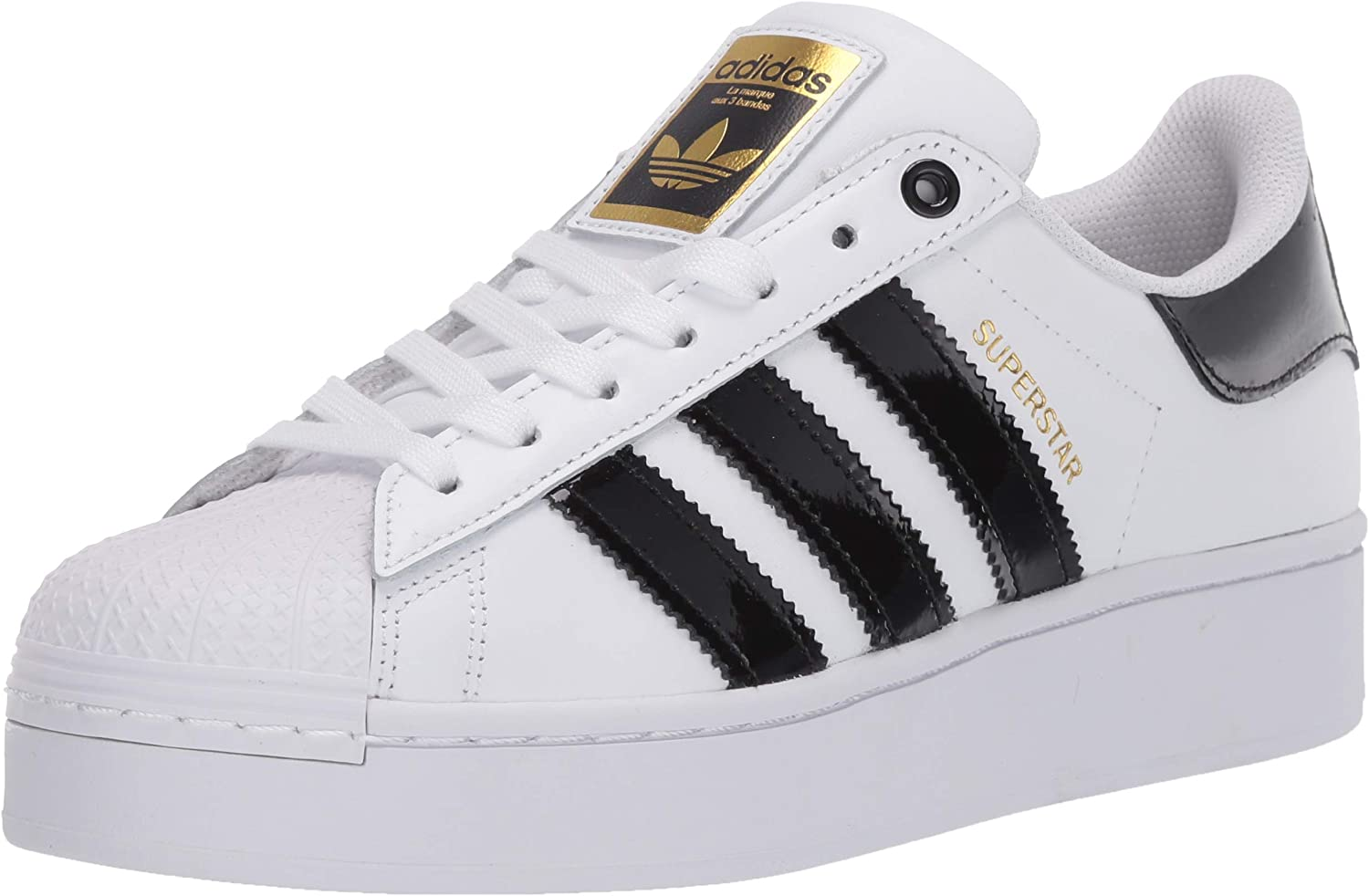 De tormenta Dónde educar  Amazon.com | adidas Originals Women's Superstar Bold W Running Shoe |  Fashion Sneakers