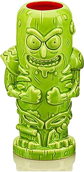 Geeki Tikis Rick /& Morty Pickle RickCeramic Tiki Style MugHolds 14 Ounces