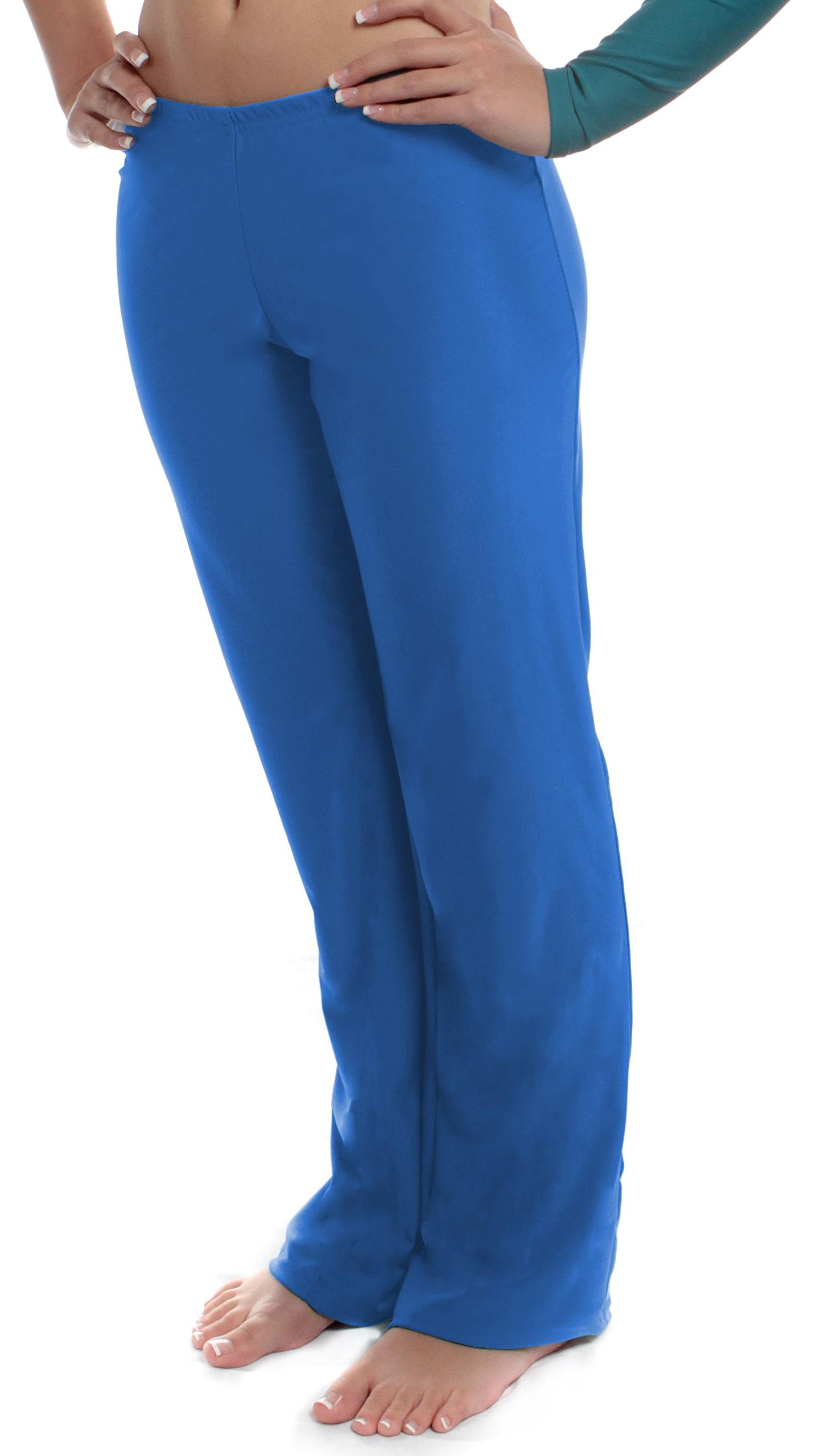 B Dancewear Girls Jazz Pants X-Large Blue Child and Kid Sizes by B Dancewear