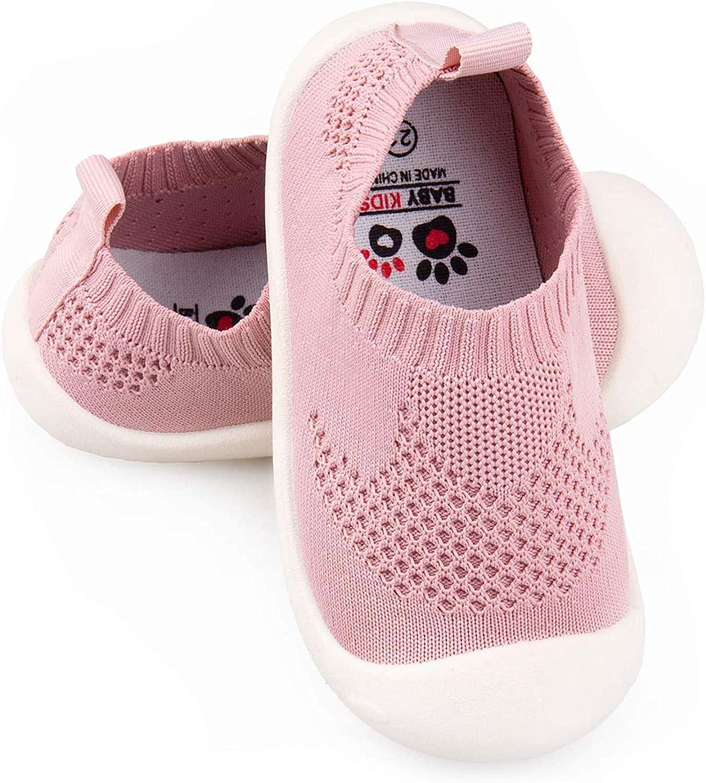 GUFANSI B/éb/é Chaussures Premier Pas pour Enfants Gar/çons Filles de 1-4 Ans