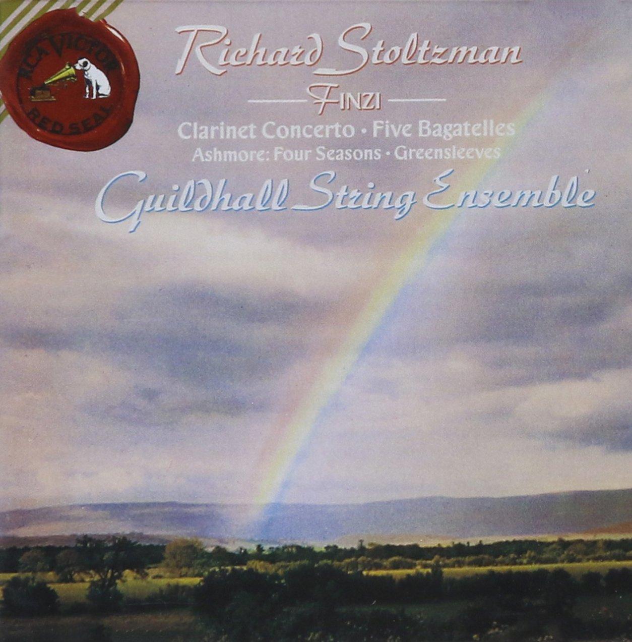 Finzi: 5 Bagatelles, Clarinet Concerto - Lawrence Ashmore: Four Seasons, Greensleeves