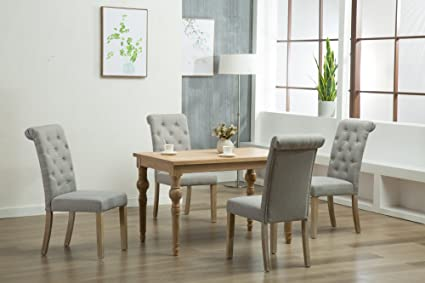 Oliver Smith - Roosevelt Collection - 5 Piece Dining - Table and 4 Chairs -  Dinette - Amazon.com - Oliver Smith - Roosevelt Collection - 5 Piece Dining