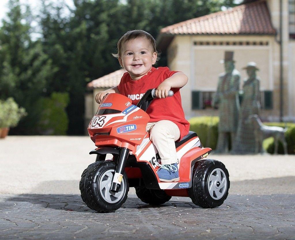 Motorrad Kinder Mini Ducati Peg Perego Batterie Akku 6 V igmd0005