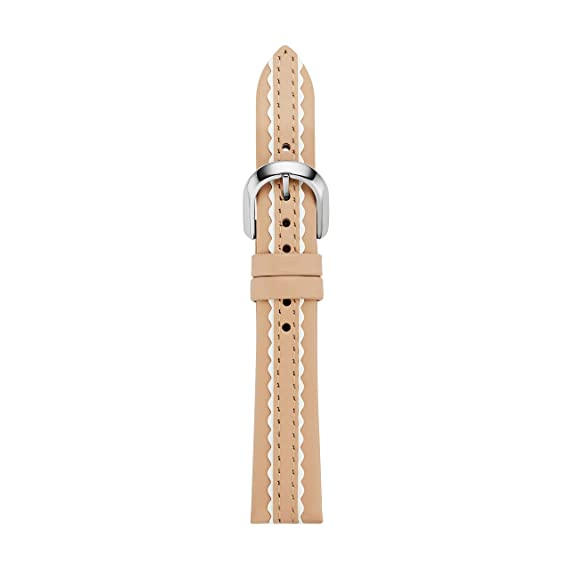 kate spade new york vachetta leather touchscreen smartwatch strap - KSS1603 Color: Beige