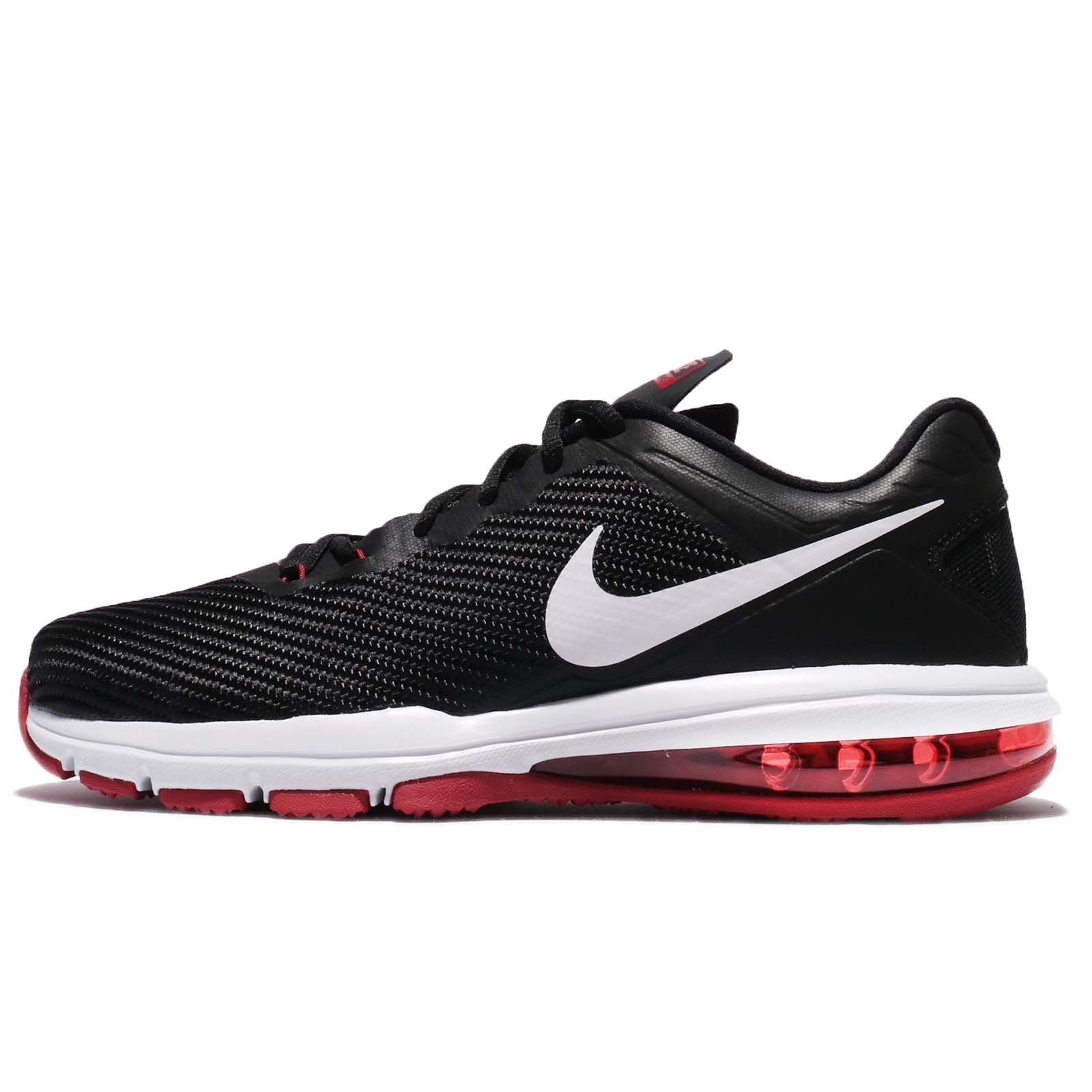 ea035c3815 Galleon - Nike Men's Air Max Full Ride TR 1.5 Training Shoe  Black/White/Tough Red Size 9 M US