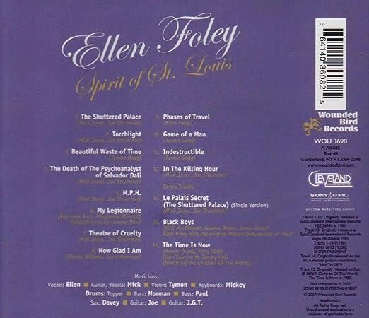 Ellen Foley Spirit Of St Louis Amazon Music