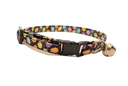 2a999258e3490 Pet Supplies : Easter Egg Kitten or Cat Collar Pastel spring pink ...