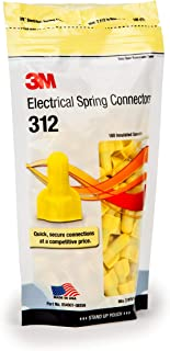product image for 3M Electrical Spring Connectors, Model 312, Yellow, 100-Piece