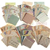 MOLNESO 360 Sheets Vintage Journaling Supplies, Scrapbook Paper Supplies for Writing, Drawing, Aesthetic Decorative Stationer
