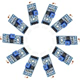 Gowoops 10 PCS of Digital Light Intensity Detection Photosensitive Sensor Module for Arduino UNO