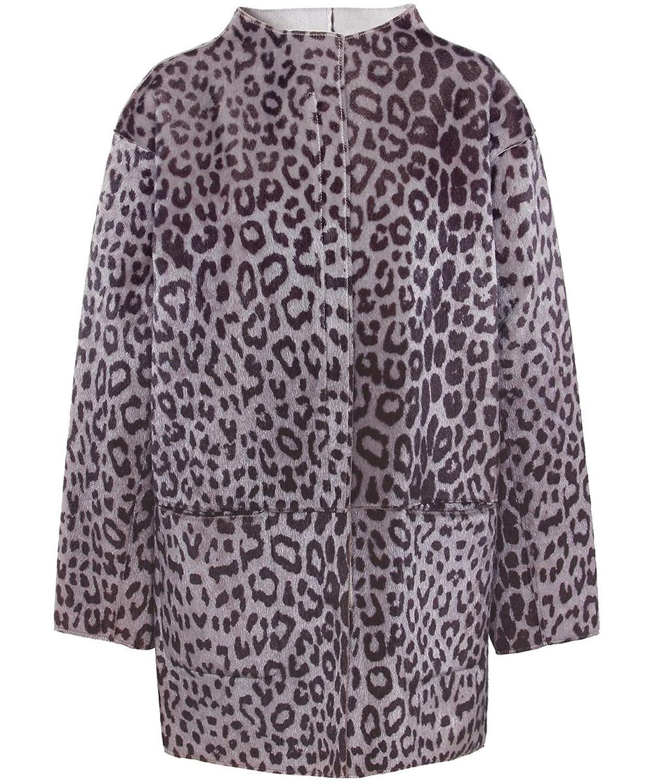 Munthe Reversible Giho Mantel Leopard