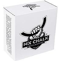 Mx Chalk Caja de Cubos de Magnesia para Gimnasio, 1 LB, Contiene de (8) Cubos de 2 oz, carbonato de Magnesia, Gimnasia, Halterofilia, Escalada, Calistenia, Color Blanco