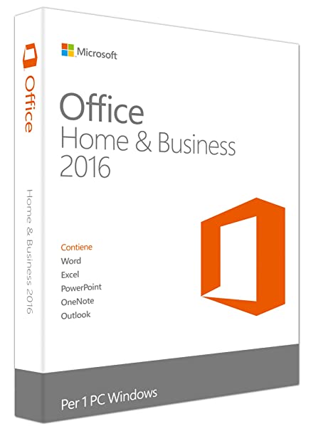 Microsoft Office 2016 - Home andamp; Business [Windows]