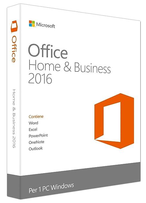 28 opinioni per Microsoft Office 2016- Home & Business [Windows]