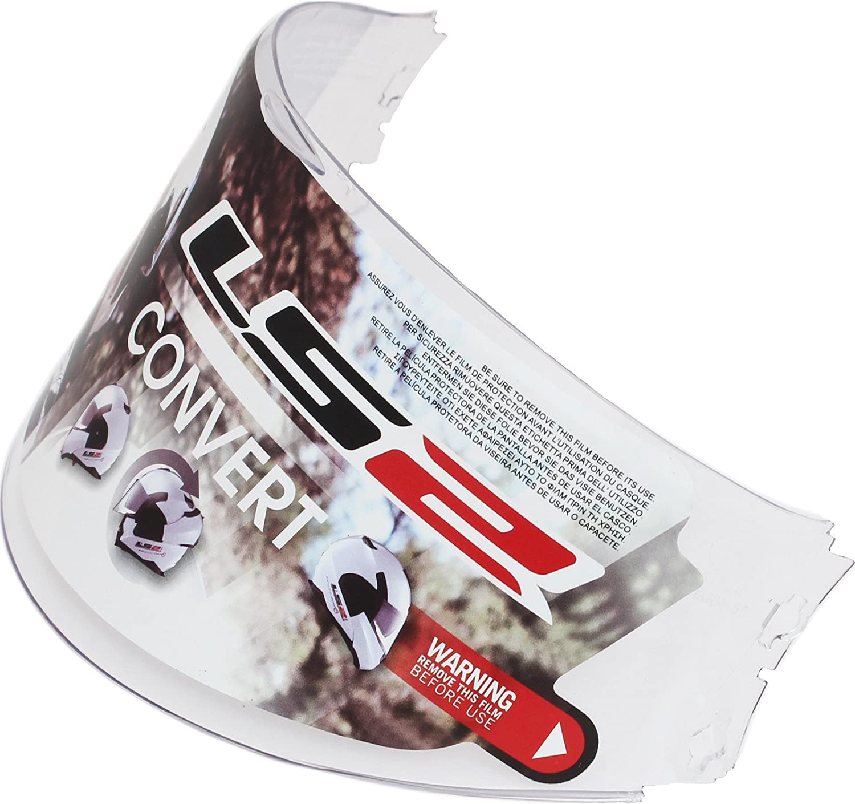 LS2 800012313 FF393/Visiera Trasparente Anti-Appannamento
