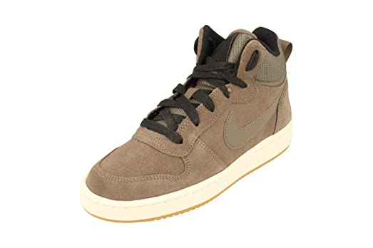 Nike Court Borough Mid PRM GS Hi Top Trainers 847746 Sneakers Shoes (Uk 3 Us