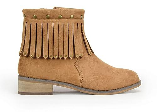Botines NIÑA XTI Gris Pardo - 37, Gris Pardo: Amazon.es: Zapatos y complementos