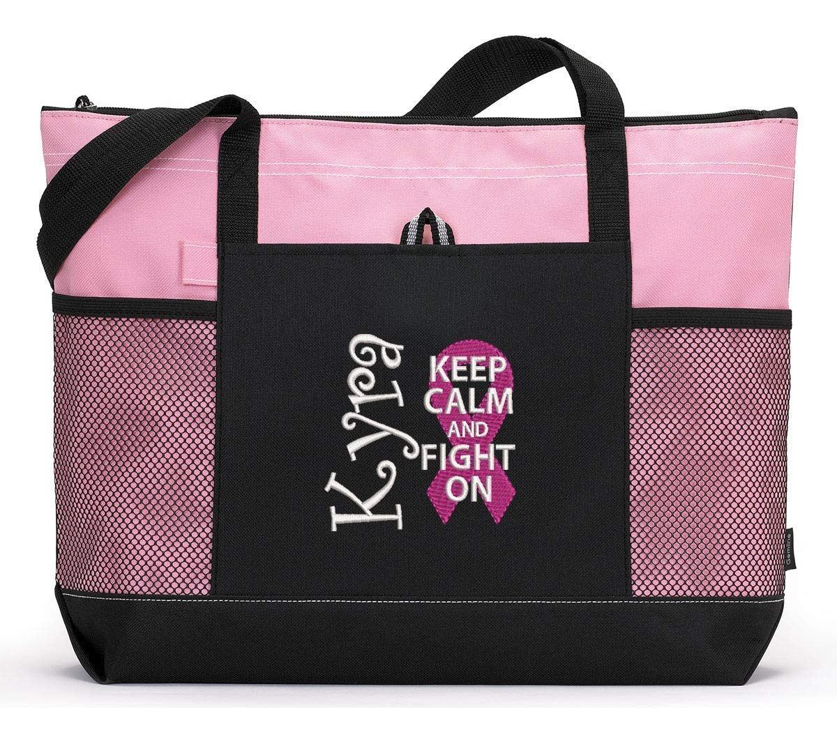 Personalized Breast Cancer Awareness Truck bag October Breast Cancer Awareness tote bag