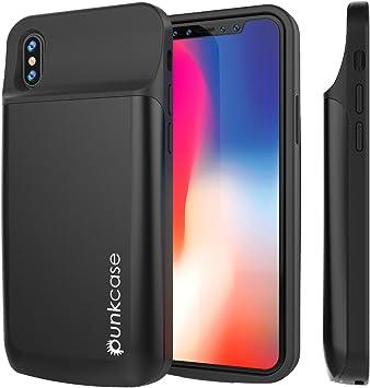 PunkCase iPhone Punkjuice de Caso X batería 6000Mah rápido Carga ...