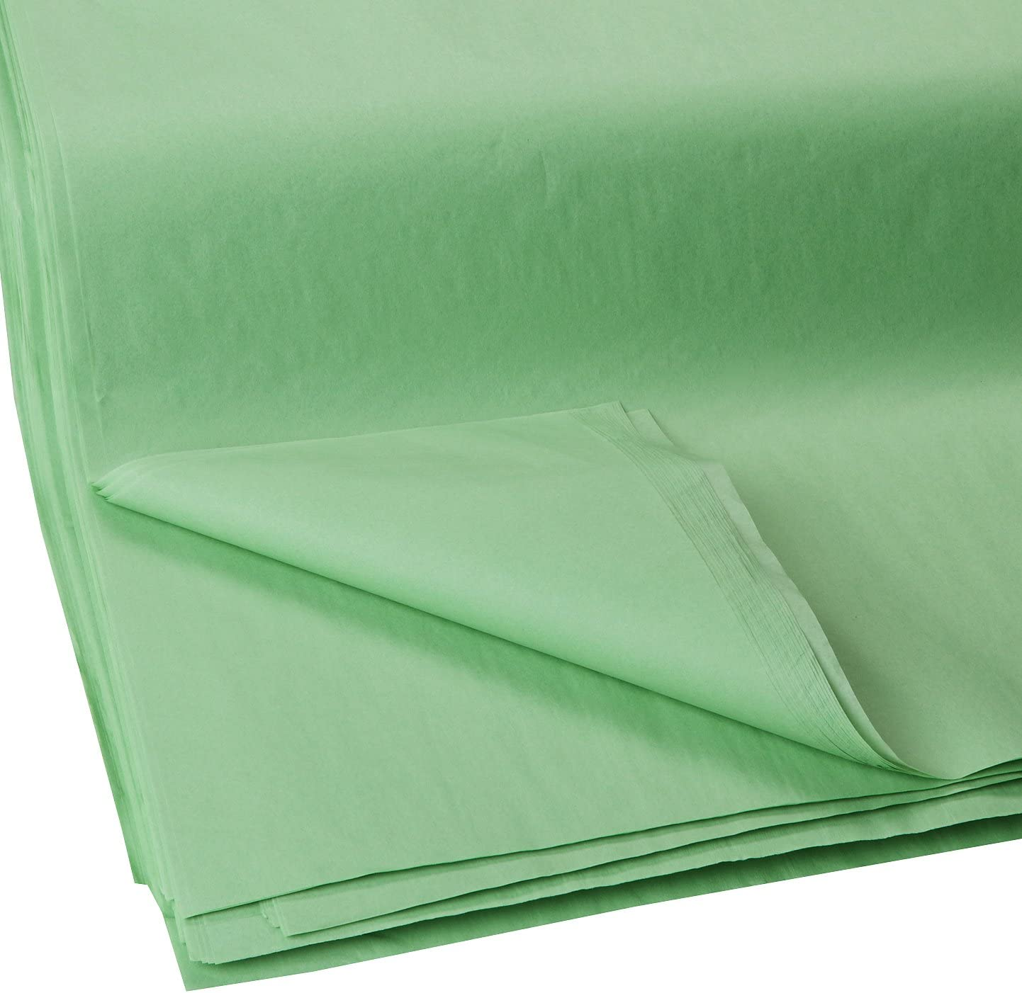 Jillson Roberts Bulk 20 x 30 Inches Recycled Tissue Available in 28 Colors, Apple, 480 Unfolded Sheets (BFT35)