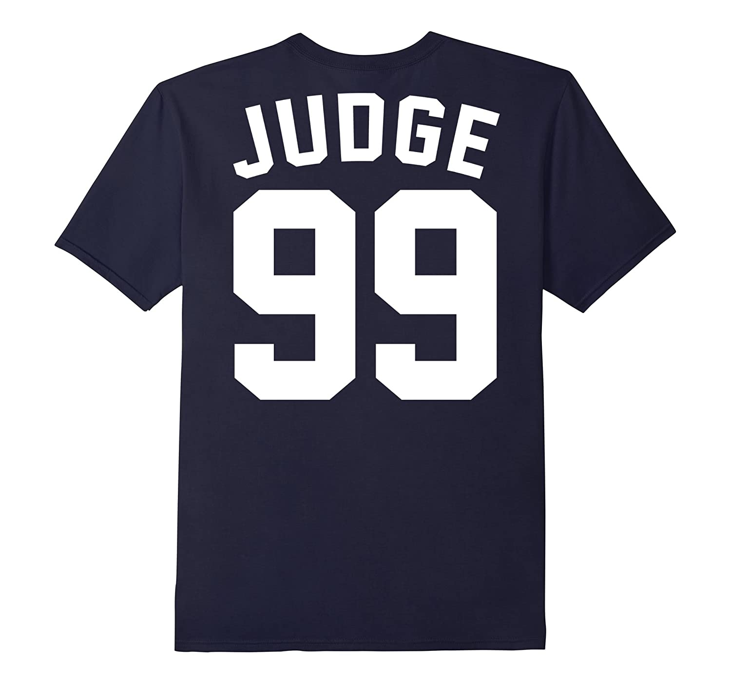 sports shoes c6cba 88f1a Mens Womens Back Aaron Judge T-shirt-TD