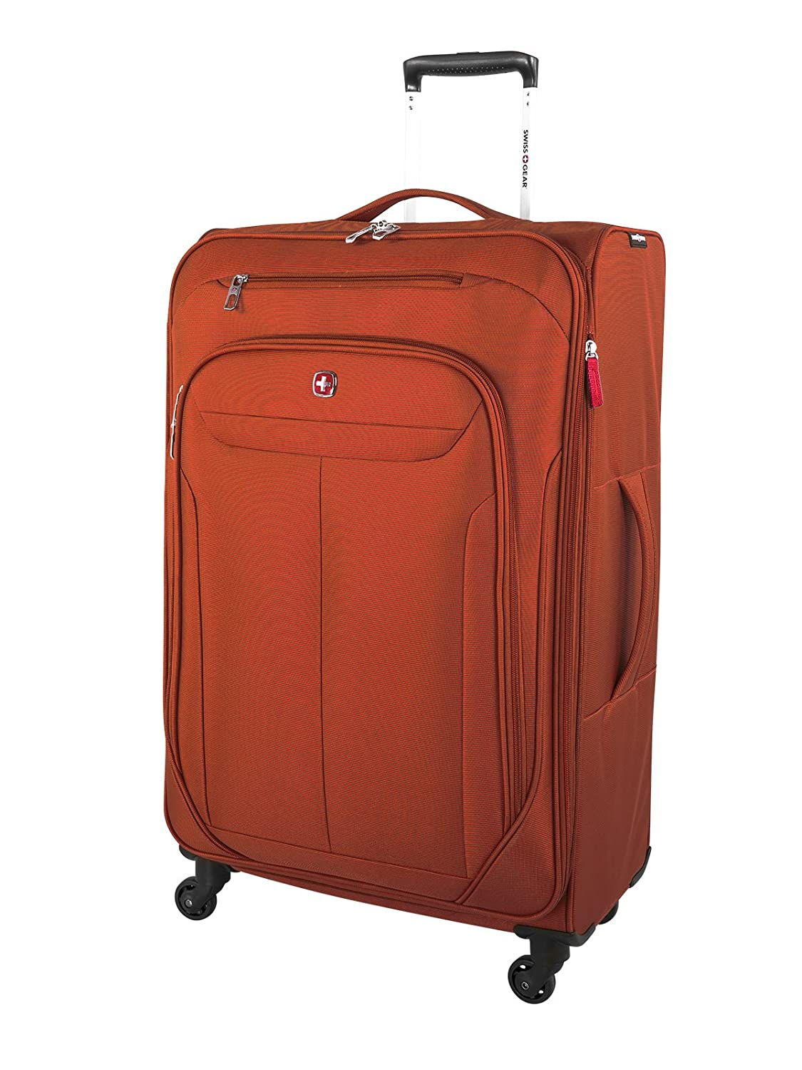 Swiss Gear Marumo Expandable Spinner Luggage 24-Inch, Black, Checked – Medium (Model:SW12774009) TP-HOLIDAY GROUP LIMITED