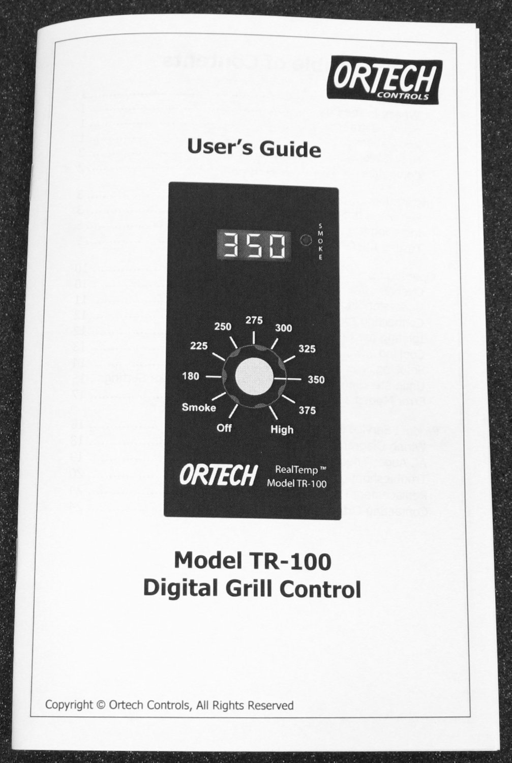 Digital Thermostat Kit for Traeger Pellet Grills by Ortech by Ortech Controls