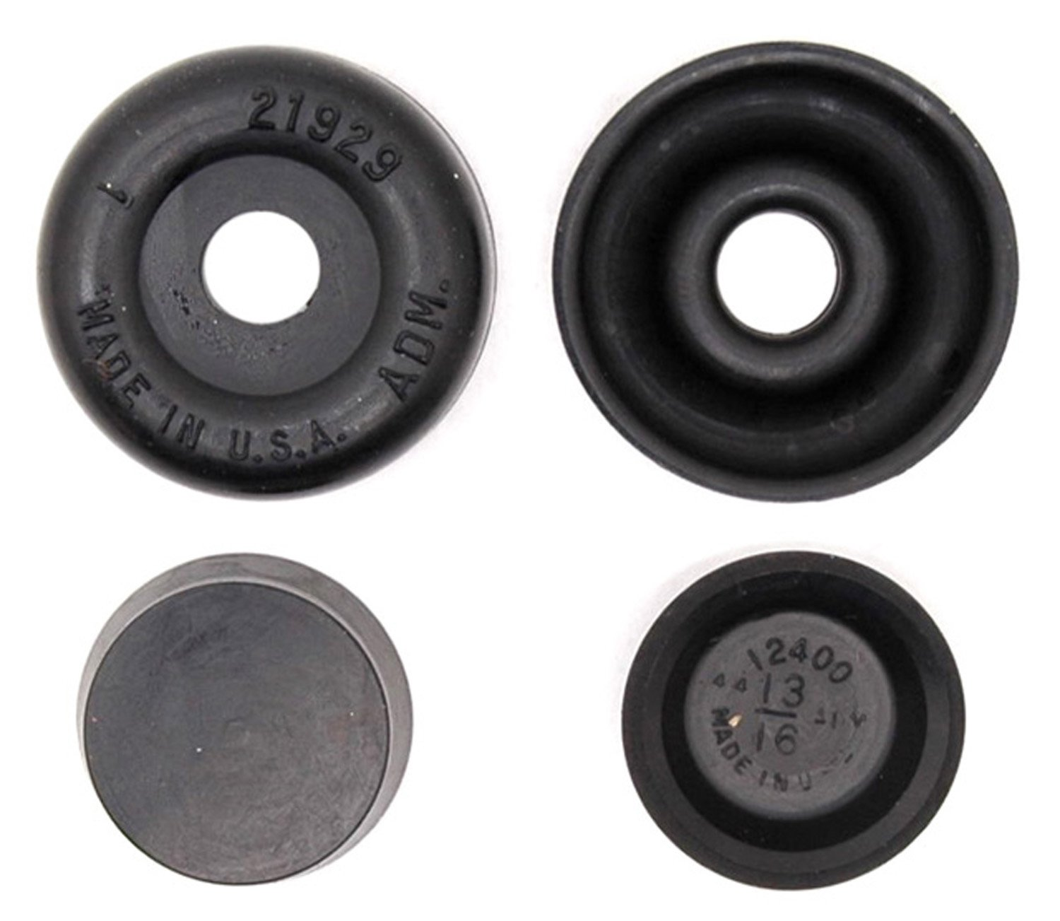 ACDelco 18G105 Professional Rear Drum Brake Wheel Cylinder Repair Kit with Boots and Caps