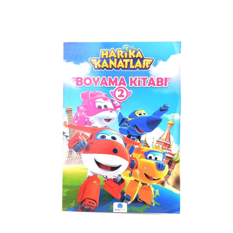 Harika Kanatlar Boyama Kitabı 2 Kolektif ğizzy ğroup Amazoncomtr