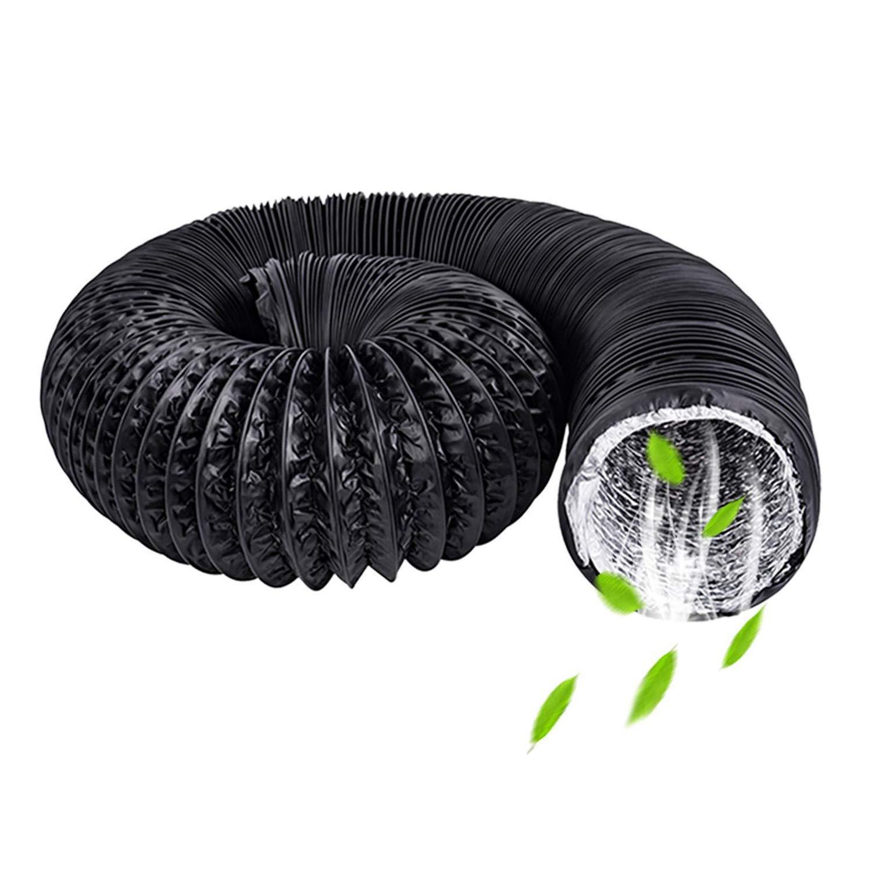 HG Power tubo di scarico silenziato isolamento termico tubo aerazione in alluminio PVC /ø100mm x 5 m Tubo flessibile di ventilazione