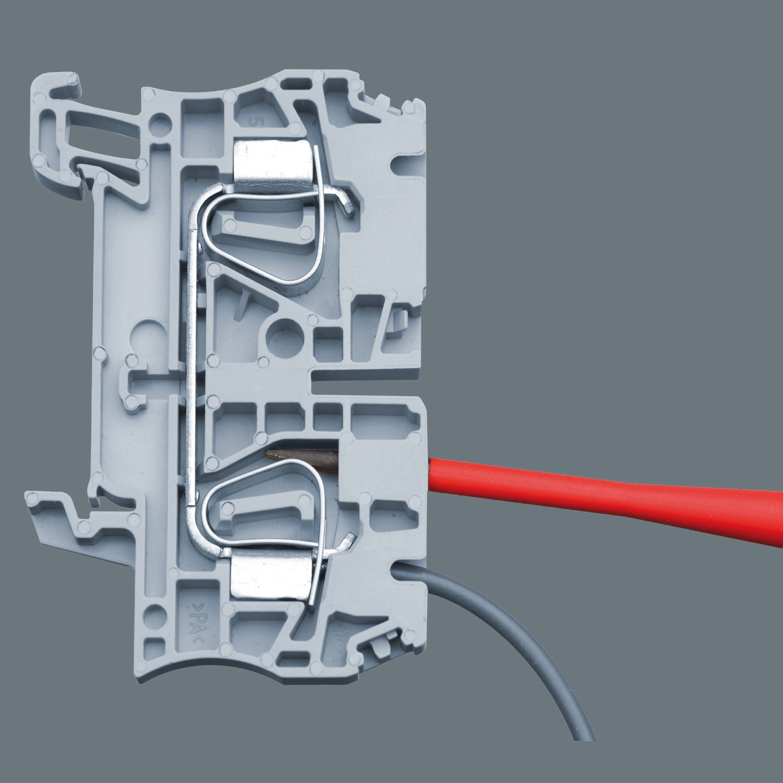 Rouge 16 pi/èces Wera 05135906001 Kraftform Kompakt VDE Torque 1,2-3,0 Nm 817