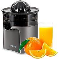 IKOHS Exprimidor Eléctrico de Naranjas y cítricos, 40 W, Apto para lavavajillas, grisfrecuencia 50-60Hz, Libre de BPA, Cono exprimidor, Filtro de Pulpa, diseño Exclusivo, Salida de Zumo Anti Goteo
