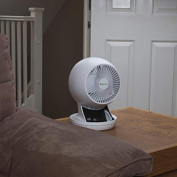 360 Blanco Meacofan 360 Ventilador dom/éstico y ventilador de refrigeraci/ón