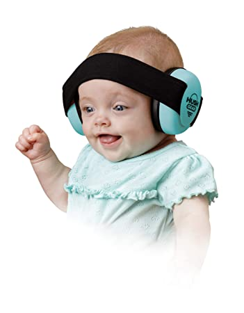 7020975dd16 Hush Gear Baby Noise Cancelling Headphones for Babies Infant Ear Protection  - 28.6db Sound Reduction
