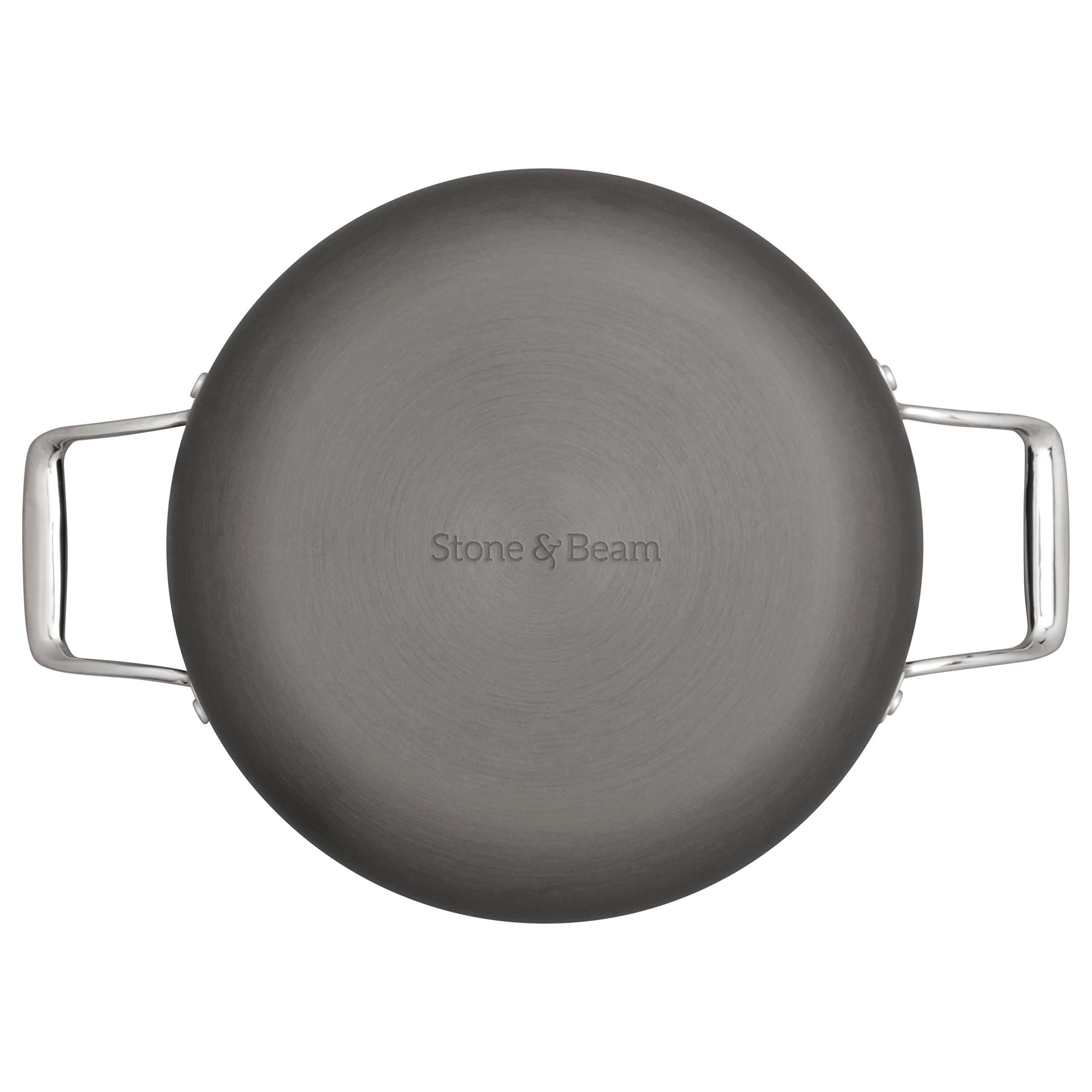 Stone & Beam Kitchen Cookware Set, 17-Piece, Pots and Pans, Hard-Anodized Non-Stick Aluminum by Stone & Beam (Image #4)
