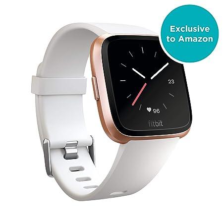Fitbit Versa - Reloj Deportivo Smartwatch Unisex, Blanco ...