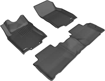 2007 GGBAILEY D2289A-F1A-BLK/_BR Custom Fit Car Mats for 2006 2008 Subaru Forester Black with Red Edging Driver /& Passenger Floor