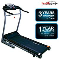 Healthgenie 4012M, Motorized Treadmill for Home 4.0 HP Peak (Free Installation Assistance)