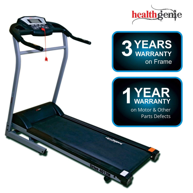 Healthgenie 4012M, Motorized Treadmill For Home 4.0 HP Peak