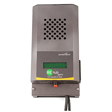 Amberroot Systems REhub MPPT 12/24V 40A That Add Solar to Existing Backup Inverter