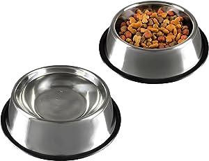 PETMAKER Stainless Steel Pet Bowls Sets