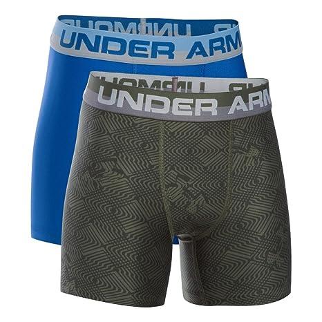 5f3e0260cd Amazon.com : Under Armour Boys' Original Series Boxerjock Novelty 2 ...