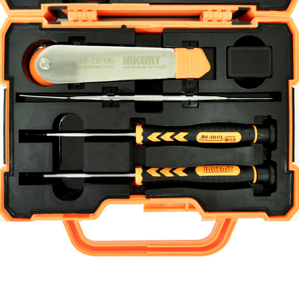 Professional Precision Screwdriver Set (45 in 1) and Cell Phone Repair Tool Kit for Mobile Smartphone, iPad, Computer, Laptop, Electronics (6pcs Octopus Microfiber Bonus) by Octopus Glue (Image #9)
