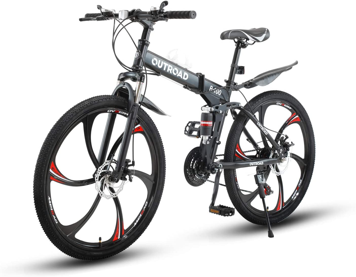 Max4out Outroad R-100 Folding Mountain Bike